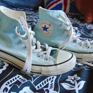 Vintage Pastel Blue Converse